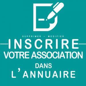 Inscrire mon association