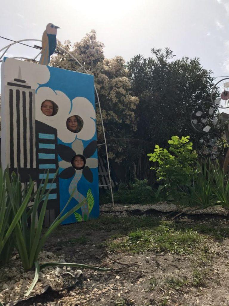 Collectif d'enfant 2 - Un jardin en tour haies d'enfants - PAE Sembat