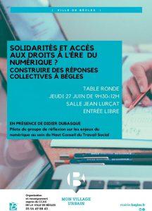 solidarités et accès aux droits du numérique