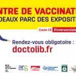 Centre de vaccination Covid19 Bordeaux Métropole