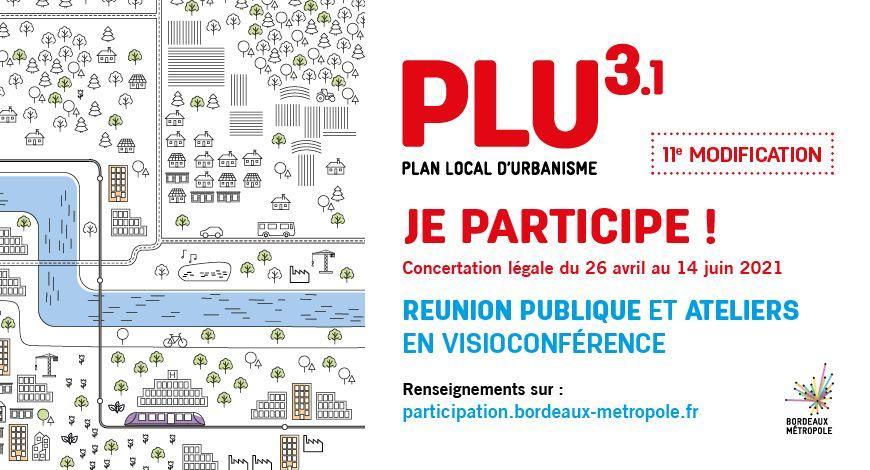 concertation PLU bordeaux metropole
